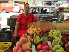 Ms Lizzy Sibiya has been a street vendor since 1997.