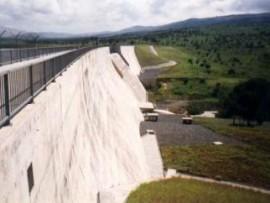 Kwena Dam, een van die Laeveld se hoofwaterbronne.