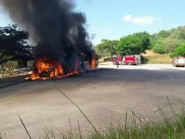 Buscor bus burns