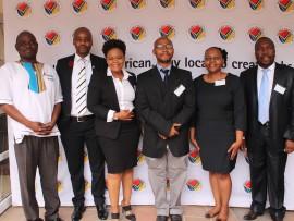 Mr Ndivhuho Raphulu, Mr Eustace Mashimbyi, Ms Happy Ngidi, Mr Philiswa Mnguni, Ms Norma Sali and Mr Andrew Thulare.