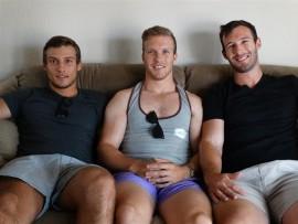 Janneman, André en Pieter Malan.