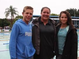 Gerard Venter, Karlien van Heerden en Carla Mouton.