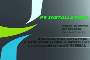 PG instalations