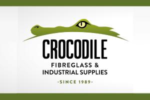 Crocodile-Fibreglass