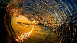 Capturing the perfect wave