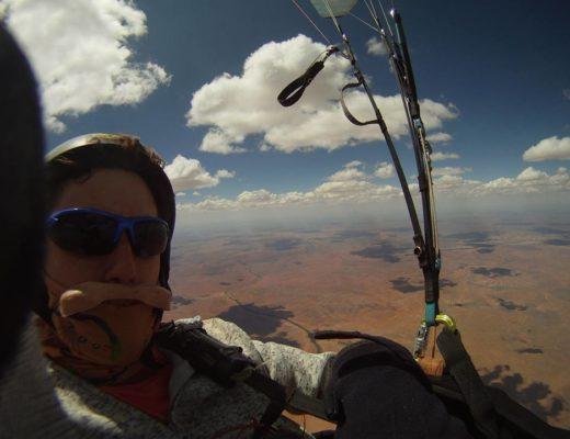 BREAKING NEWS: Paraglider severely burned in freak accident