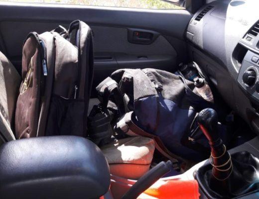 Army Seizes Five Rhino Horns In Stolen Car