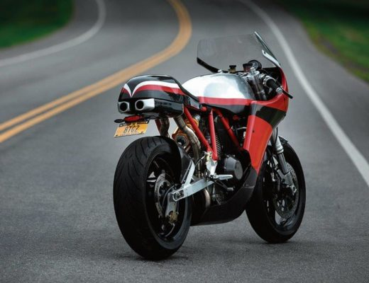 Motoworks Ducati 900SS Hand Customised Into A Real Firecracker Of Bike