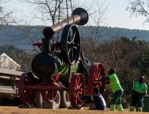 Old steam engine gets place of honour in Kaapsehoop | Lowvelder