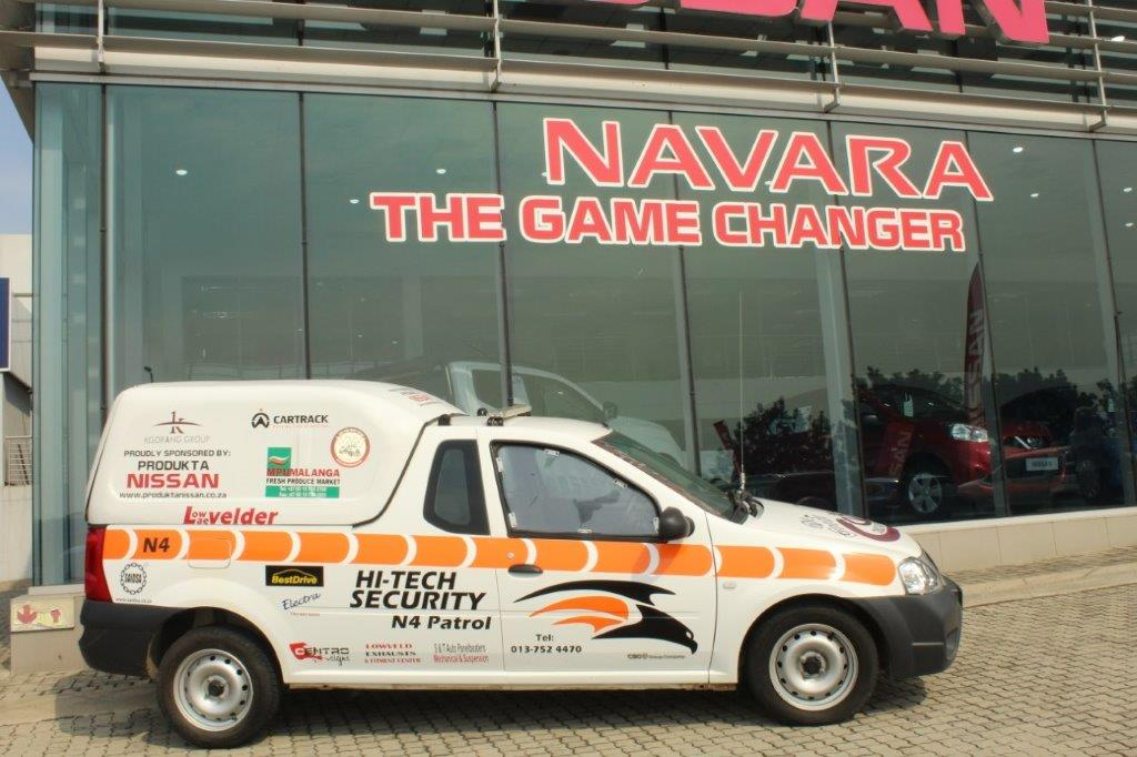Local Companies Support The Hi Tech Security N4 Patrol Vehicle Project Lowvelder