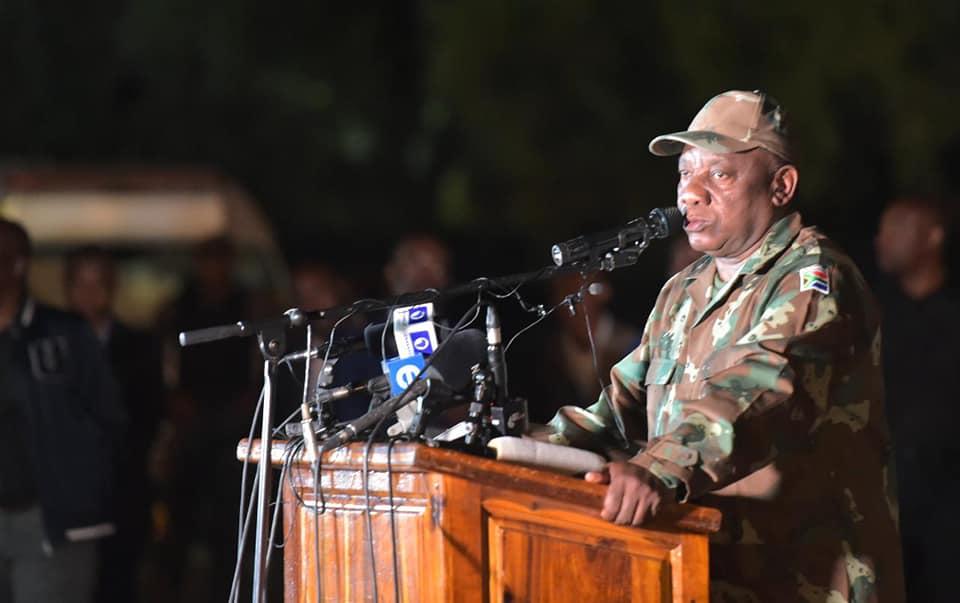 COVID-19: South Africa begins three week lockdown