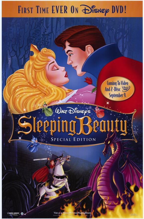 Sleeping beauty disney movie poster pixshark