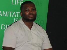 The spokesperson for Barberton facility Mr Mesia Hlongwane.