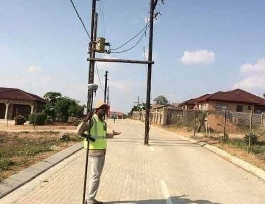 Poorly installed electric poles to be removed in