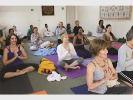 A few smiling faces after their session at Serendib Yoga Studio in Van Wijk Street.