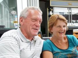 Quintin en Susan Hyman reis graag.