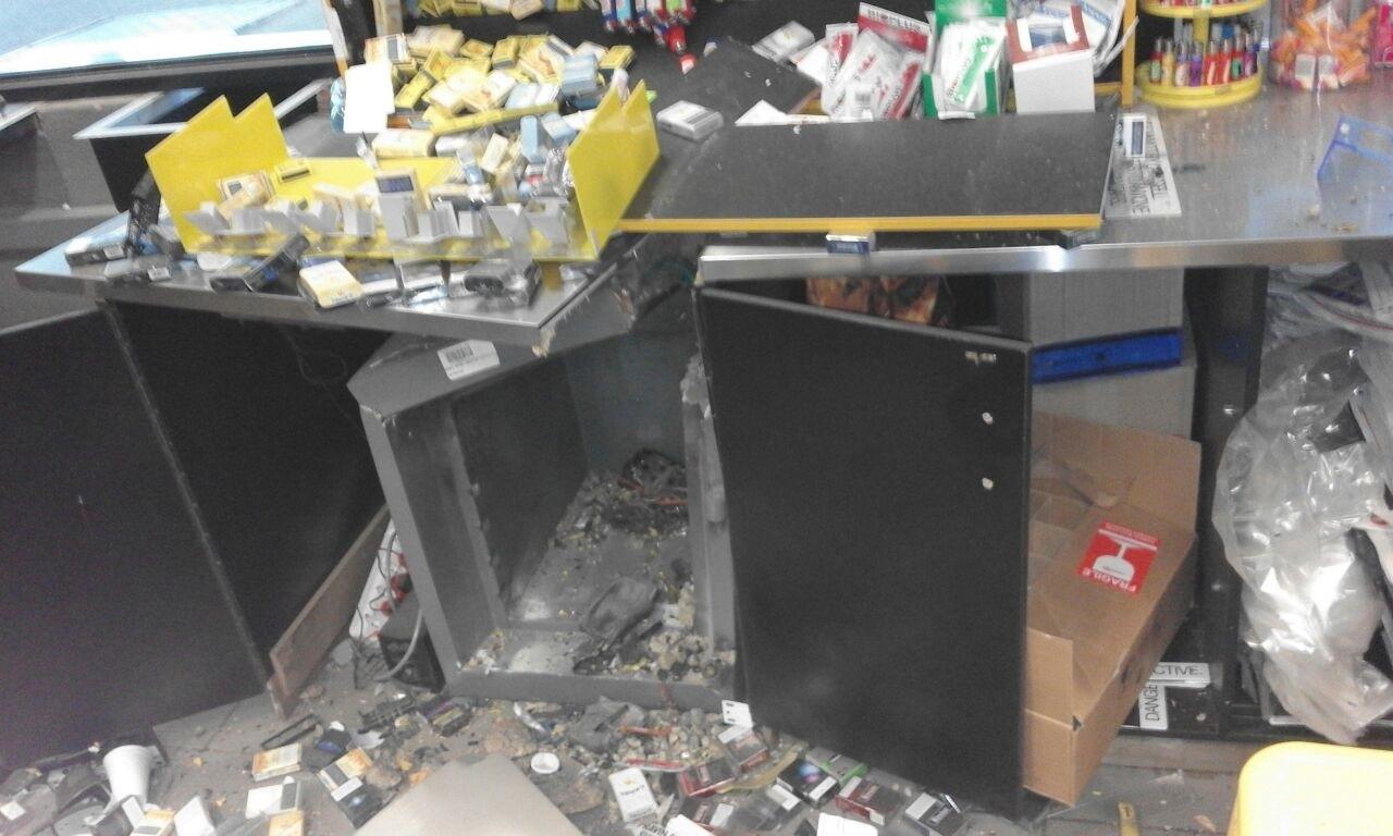 Karino Sasol Is Bombed Thieves Flee With Cash Nelspruit Post