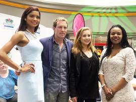left_ Yesinia Savon_model , Christo de Ridder finalist for mr SA, zante duveen, tv presenter sabc2 and Nicollette Mashile actress on genarations (Medium)