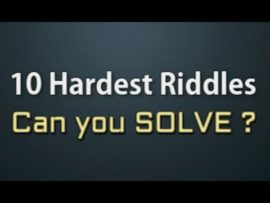 10 of the toughest riddles ever