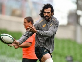 Victor Matfield has recovered from his hamstring injury and will operate off the bench against the All Blacks on Saturday. - Image by © Matt Browne / SPORTSFILE/SPORTSFILE/Corbis
