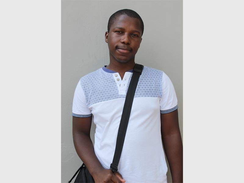 Bongani Mtolo, is a qualified accountant, who has been unable to find employment.