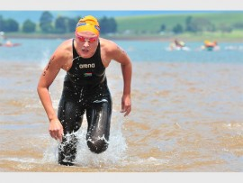 Despite having to deal with a number of obstacles in her quest, Elite Athlete Development Programme superstar Michelle Weber overcame these hurdles to qualify for the Rio de Janeiro Olympic Games in the Women's 10km Open Water Swim. PHOTO: Jetline Action Photo/ Gameplan Media