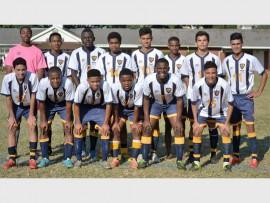 Durban High School's first football team.