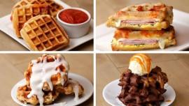 Waffles 4 Ways