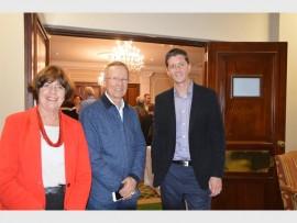 Glenda Thompson, Terry Rosenberg and Grant Gavin.