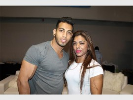 Sayed Basha and Nazreen Ally.
