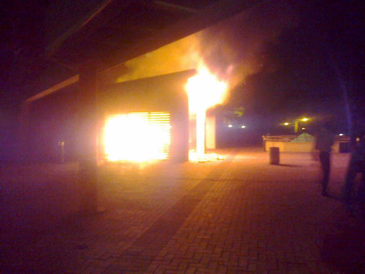Police probe UKZN cafeteria blaze