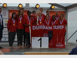 Durban Surf won the youth interclub division at the Lifesaving World Championships held in the Netherlands.