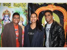 Mishan Naidoo, Lichelle Govender and Buvan Viranna.