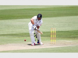 The Hollywoodbets Dolphins were left frustrated after the third day of their Sunfoil Series clash with the Warriors was lost to weather, however a brilliant 154 from Vaughn van Jaarsveld was the highlight for home side over the four days. PHOTO: Anesh Debiky/Dolphins Cricket