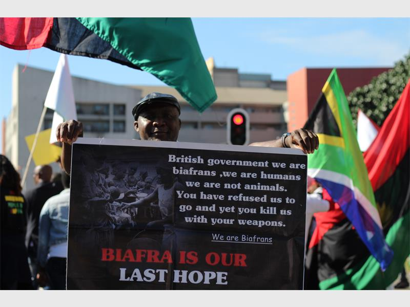 Biafrans ask for support from government   Berea Mail