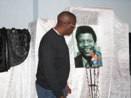 THE new meets the old as Rev Nicholas Mashiane meets his predecessor, the Rev Dr Sam Buti in the poster.