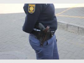 An Alex police officer.