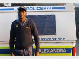 Spokesperson for Alex Police Station, Lieutenant Allie Kodisang.