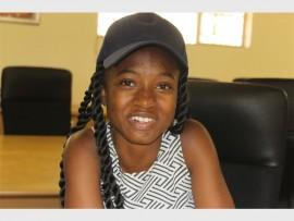 Hloniphane Mabasa, one of Kwabhekilanga Secondary School's high achievers.