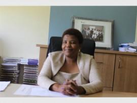 Deputy principal Josephine Mokgoatlheng.