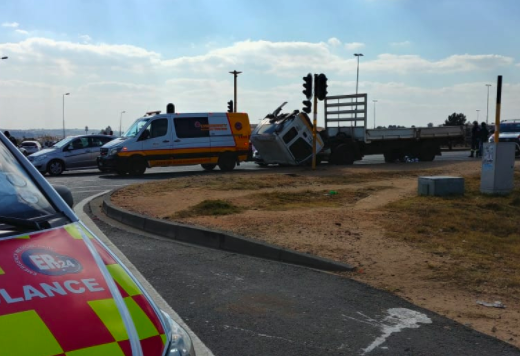Man crushed to death in a horrific accident on London Road in Linbro