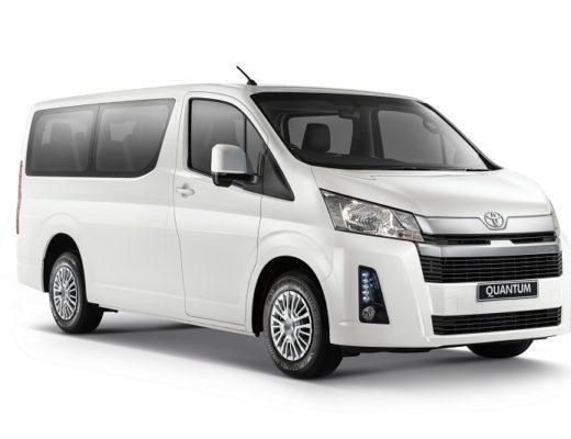 Newly attired Toyota Quantum priced   Alex News