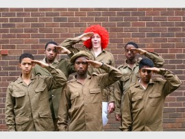Kearsney College pupils, Orian Hughes, Luthando Mabika, Thandolwethu Skwatsha, Oliver Wykerd, Anele Ndlovu and Ayush Singh star as soldiers in Spike's War Diaries.
