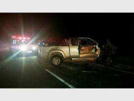 Rescue Care paramedics attended to a single vehicle collision on the M7 on Wednesday night, 27 April. PHOTO: Submitted