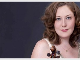 Concertmaster of the KZN Philharmonic Orchestra, Joanna Frankel, will perform in Kloof.