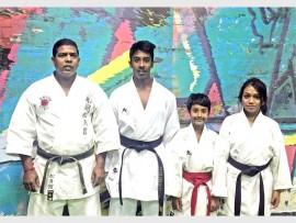 Shihan Selvan Govender,  Hemal Heeralal, Dhruv Heeralal and Trisha Vishnuduth.