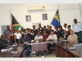 Highway College, Westmead and Wyebank secondary schools pupils visited the Pinetown SAPS for a career guidance day.