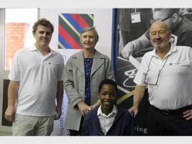 Nicholas Lambie, Angeline Naidoo, Thandi Muir, Musa Mncube, David Ralph, Zizipho Zikhulu and Lwandile Bhengu.