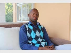 New Ward 24 Councillor, Sfiso Mngadi.