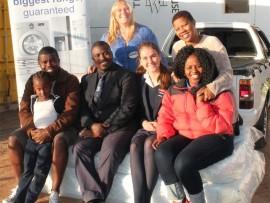 Russell Chilli, Fudu Londeka Ndlovu, Kwanda Sibiya, Taryn Taylor, Taylin Pienaar,  Precious Chili and Thabile Nkomo.